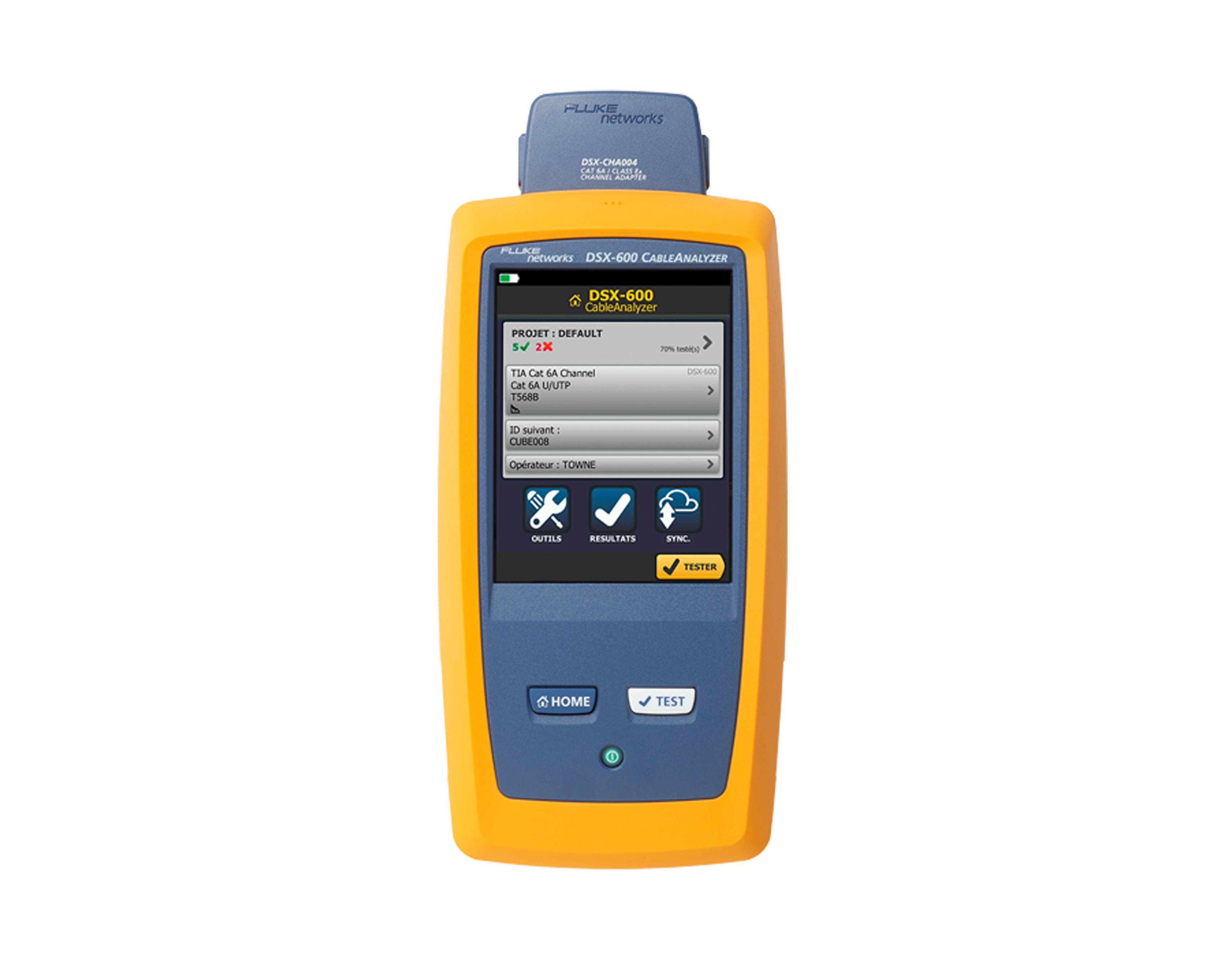 福禄克Fluke DSX-600 CH CableAnalyzer? 线缆分析仪